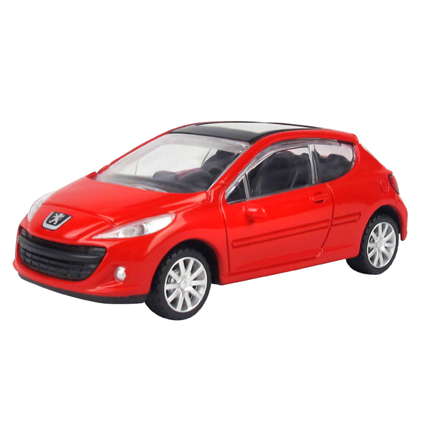 Peugeot 207 Die Cast Car - Red