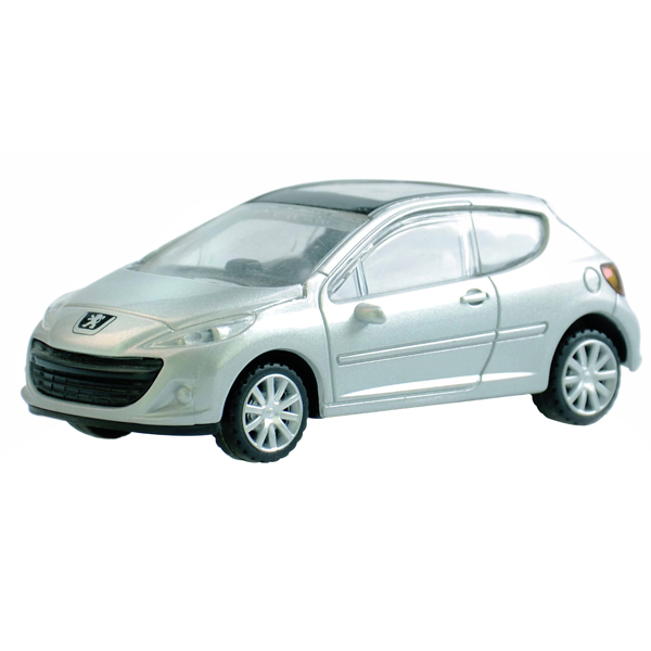 Peugeot 207 Die Cast Car - Silver