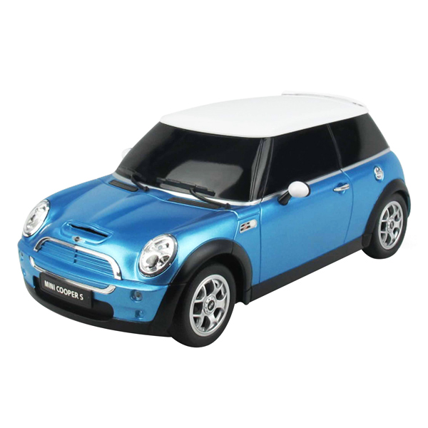 Mini Cooper Remote Controlled Car - Blue