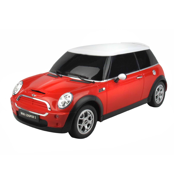 Mini Cooper Remote Controlled Car - Red