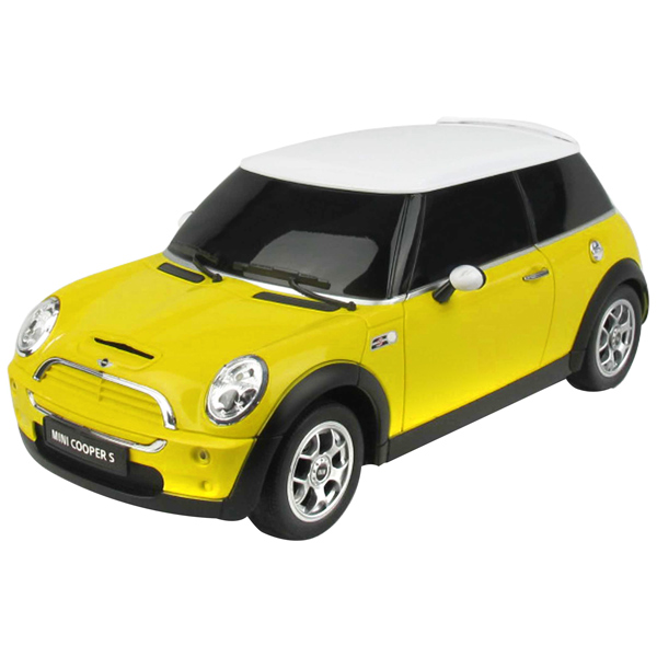 Mini Cooper Remote Controlled Car - Yellow