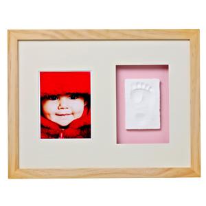 Baby Memory Prints Wall Frame - Natural