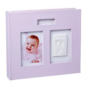 Baby Memory Prints Memory Album - Pink