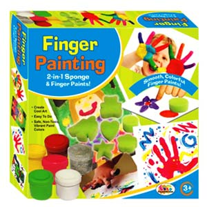 Hobbies & Crafts-Ekta Finger Painting - Junior