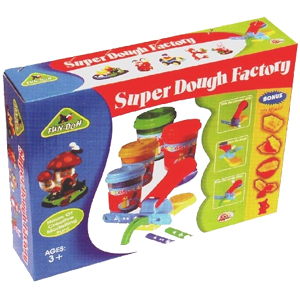 Ekta Super Dough Factory Fun Game
