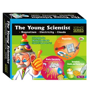 Ekta The Young Scientist Magnetism Electricity Clouds Game Set