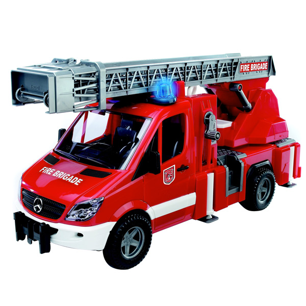 Bruder mercedes benz sprinter fire engine india for Mercedes benz truck toys