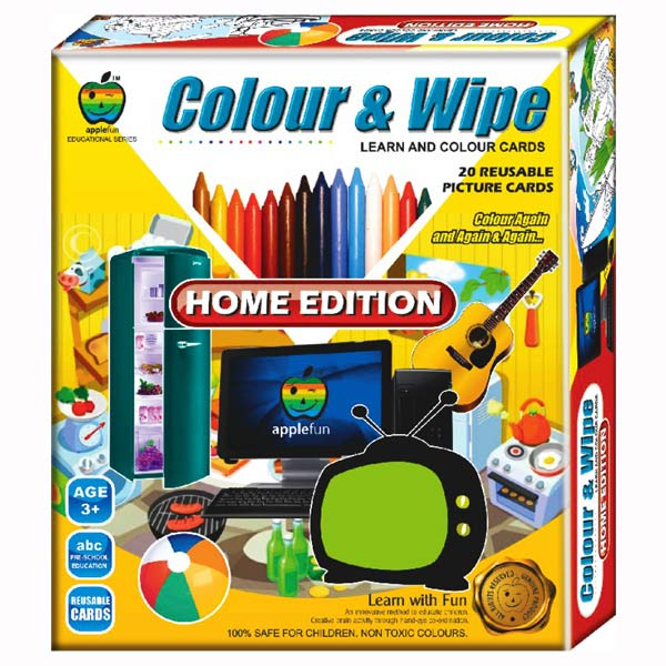 Apple Fun Color & Wipe Home Edition Junior
