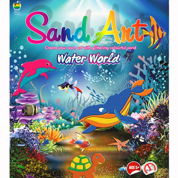 Apple Fun Sand Art Water World