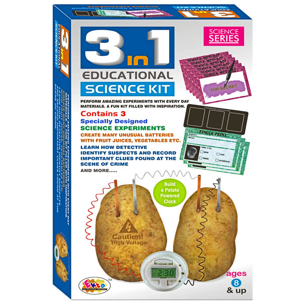 Ekta 3 In 1 Science Kit