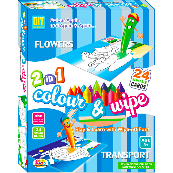 Ekta Color & Wipe - Flower and Transport