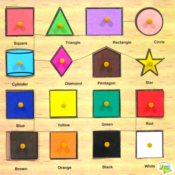 Wooden Puzzle Shapes