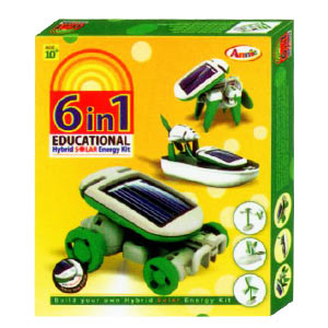 Annie 6 in 1 Educational Solar Energy Kit - Series 1