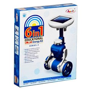 Annie 6 in 1 Educational Solar Energy Kit - Series 2
