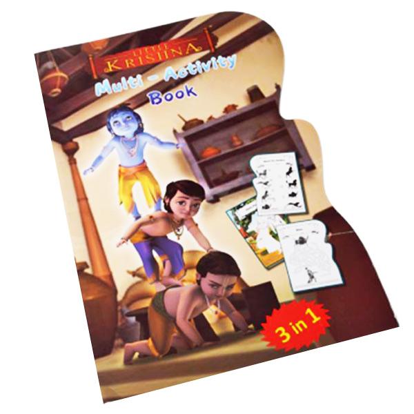 Little Krishna Jumbo Multi-Activity Book