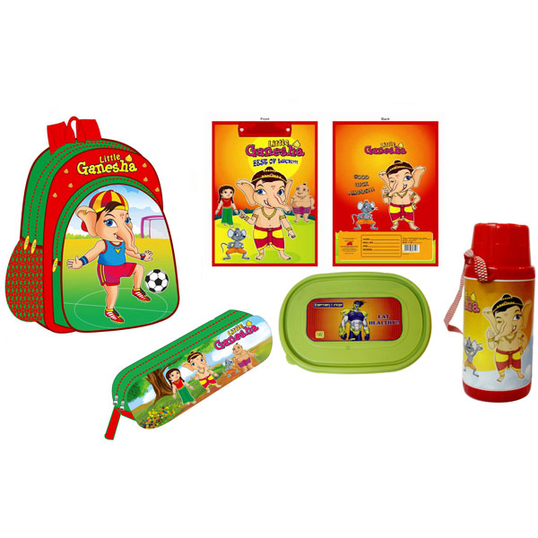 Back to School Hamper for Kids - Set of 5