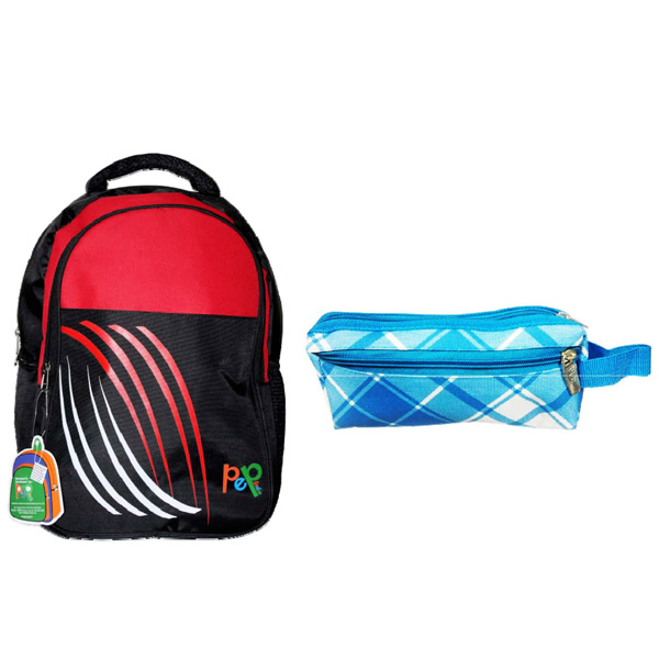 Back to School Trendy Bag with Pouch