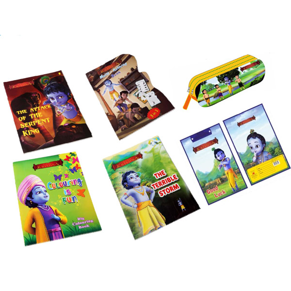 Lord Krishna Back to School Combo - Set of 6