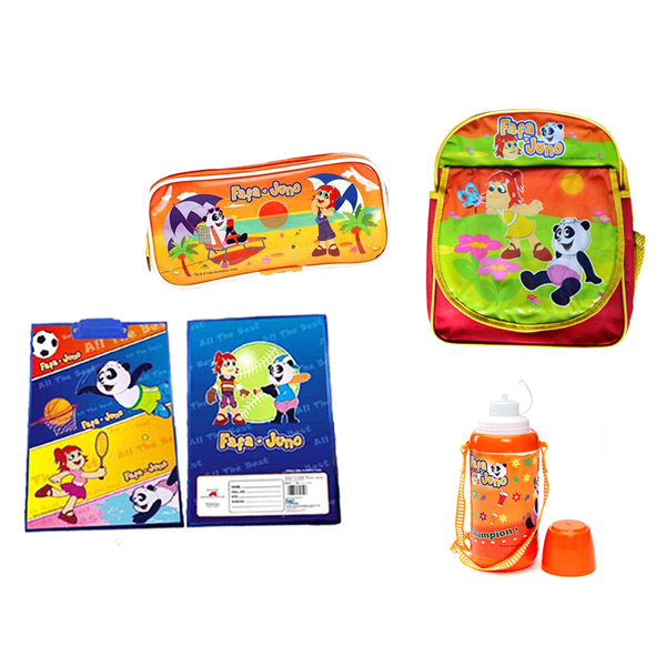 Fafa N Juno Back to school combo - Set of 4