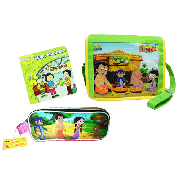 Chhota Bheem school combo - Set of 3
