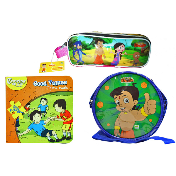 Chhota Bheem school hamper - Set of 3