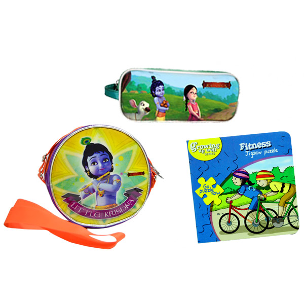 Little Krishna back to school hamper - Set of 3