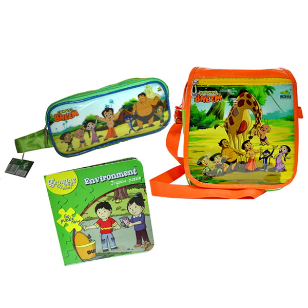 Little Krishna back to school combo - Set of 3