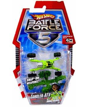 Hot Wheels Battle Force 5 Die Cast Car Tangler Atv India