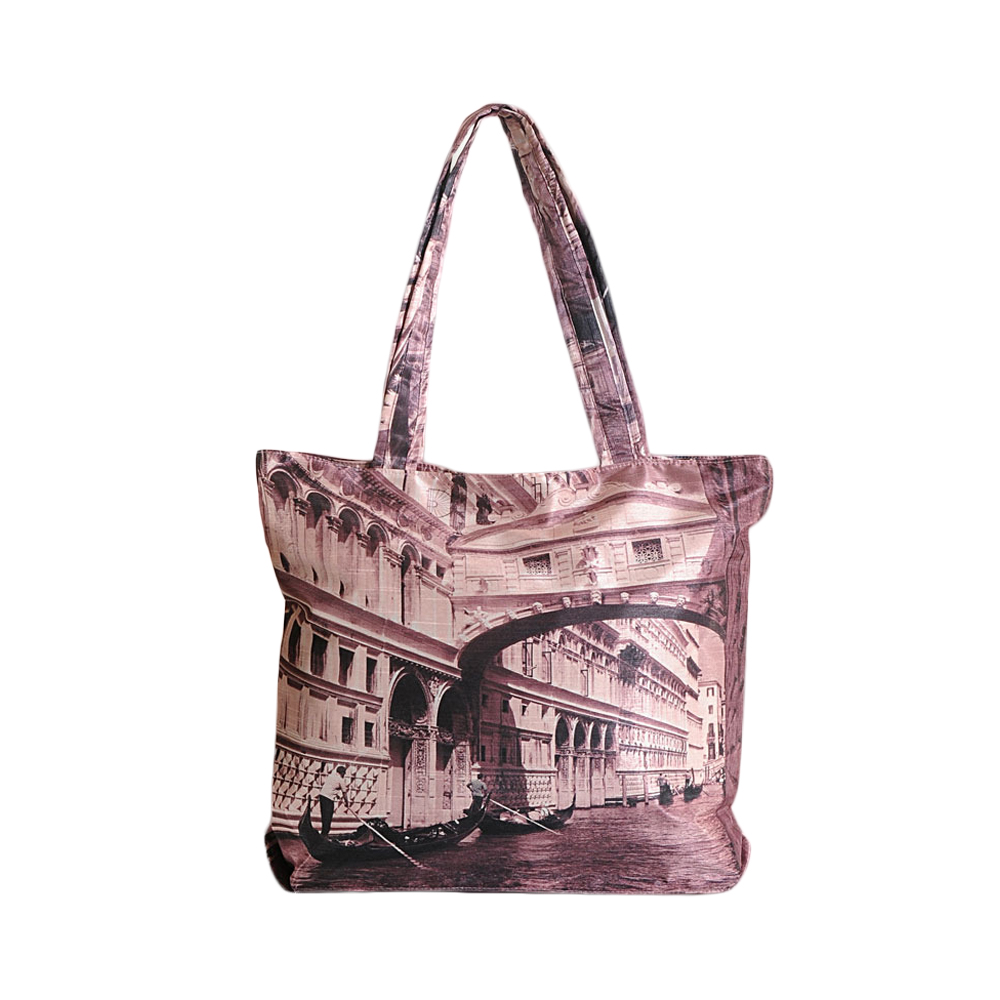 Vienna on Canvas Fashion Bag