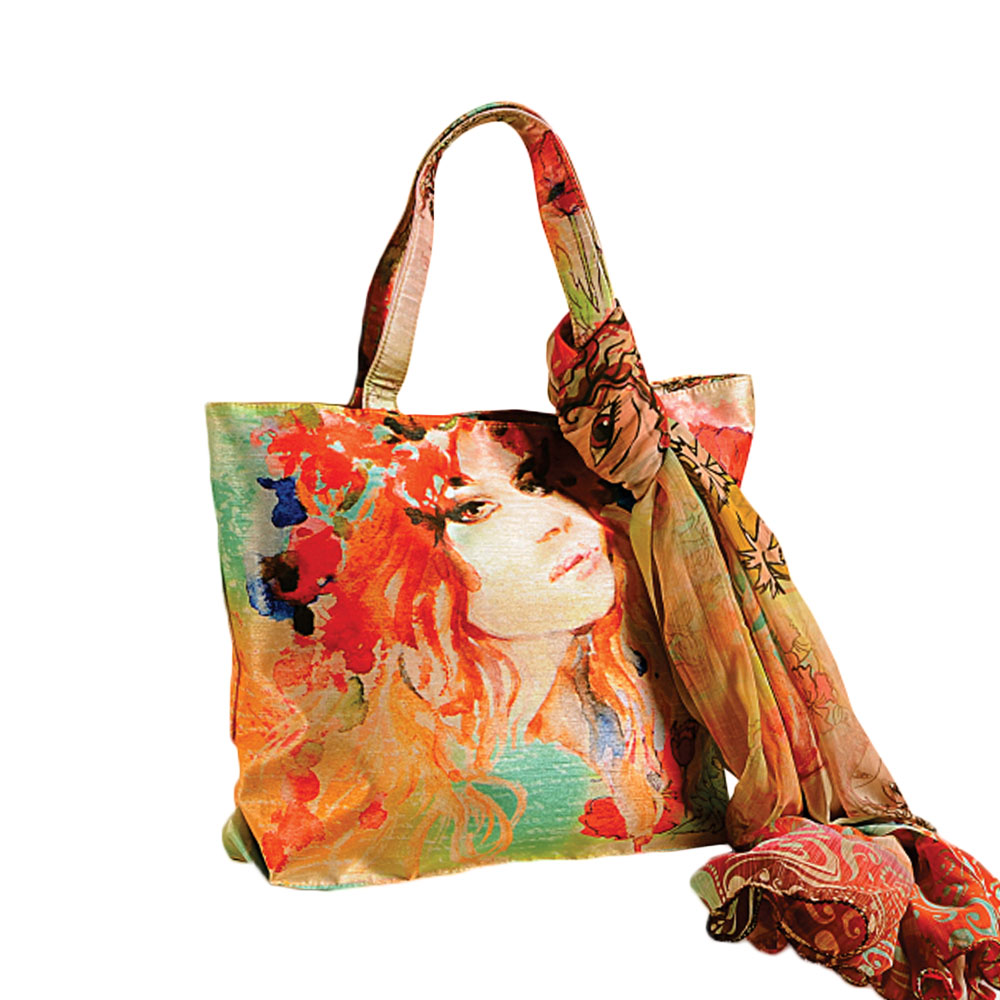 Sassy Woman Bag with Scarf