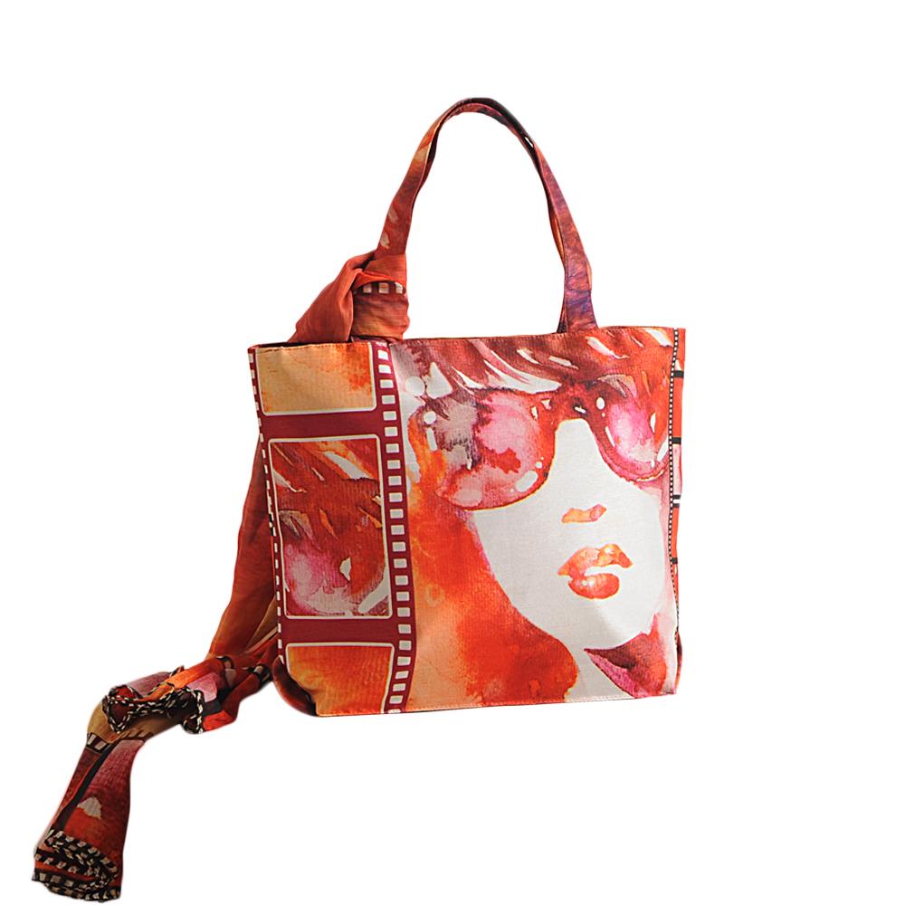 Kool Kat Bag with Scarf