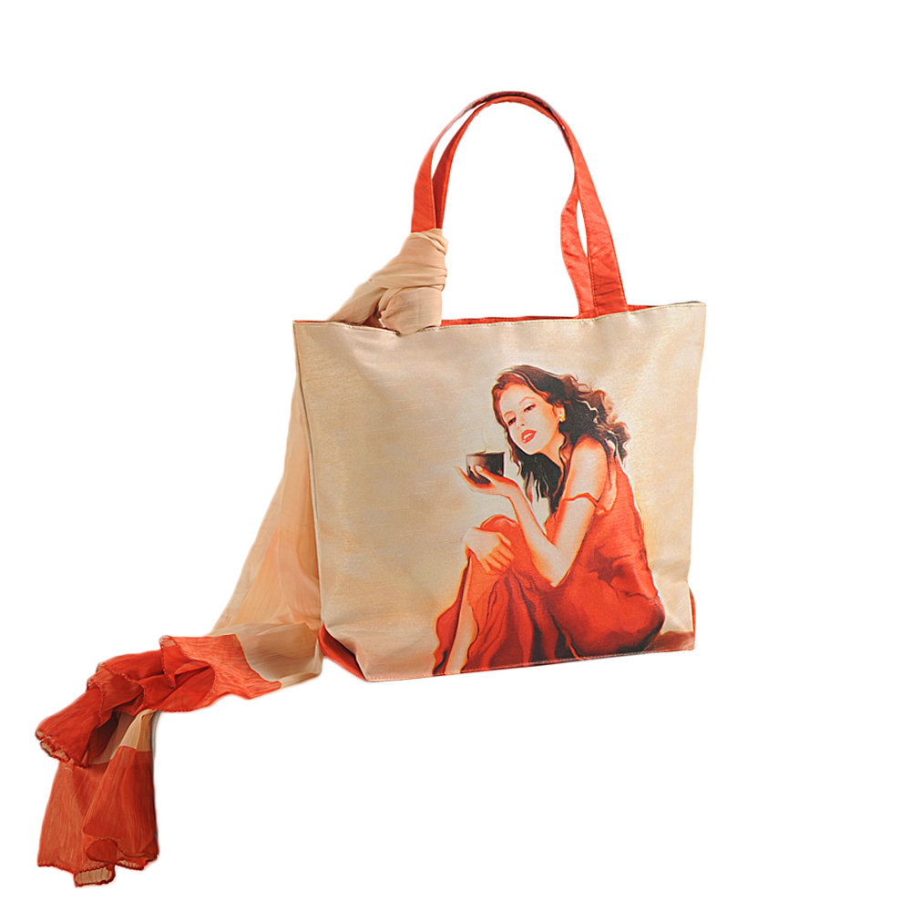Country Lass Bag with Scarf