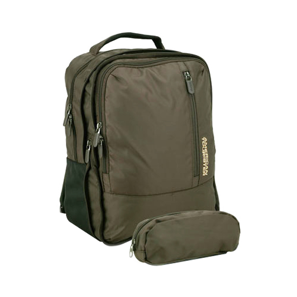 American Tourister Brown Laptop Backpack