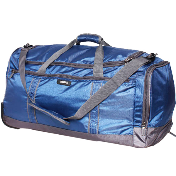 American Tourister x-Bags Travel 1 Blue Duffle Trolley Bag - 65 cm