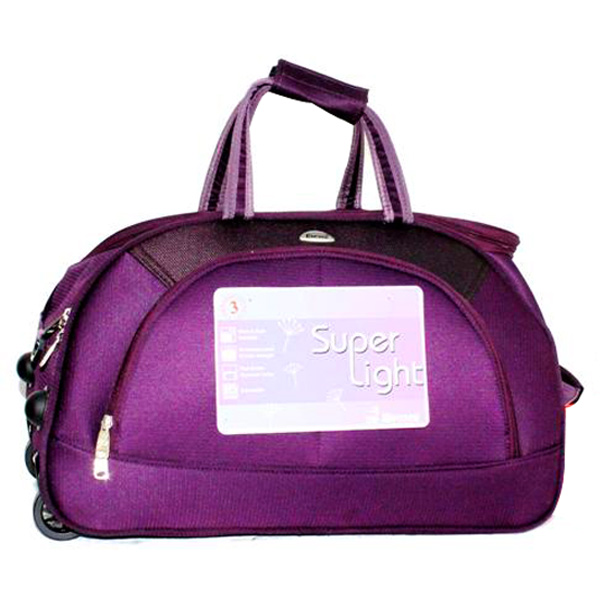 Encore Purple Duffle Bag