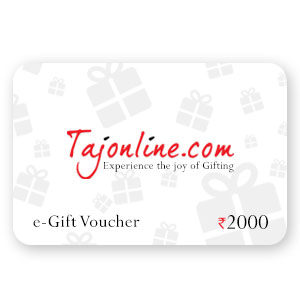 Tajonline e-Gift Voucher worth Rs. 2000/-