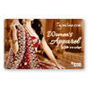 Tajonline Women�s Apparel e-Gift Voucher worth Rs. 1000/-
