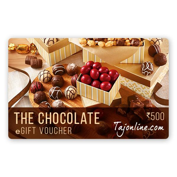 Tajonline The Chocolate e-Gift Voucher worth Rs. 500/-