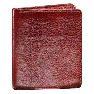Top Grain Double Sided Wallet for Men