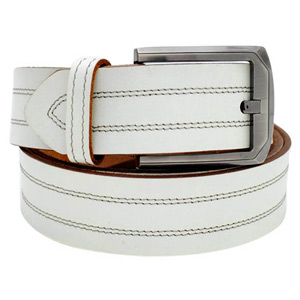 Casual Double Stitch Belt