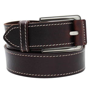 Casual Leather Buckle Belt
