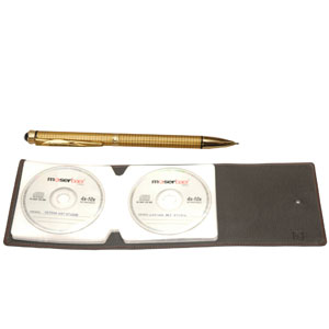 Pierre Cardin Konark Ball Pen & CD Case Set