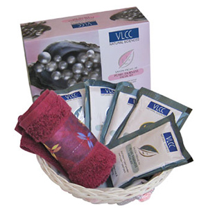 Beauty & Spa Hampers-VLCC Precious Pearls Luxury Beauty Care Hamper