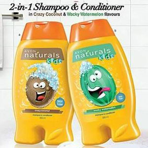 Avon Naturals Kids Shampoo and Conditioner