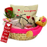 Love Teddy Basket Combo