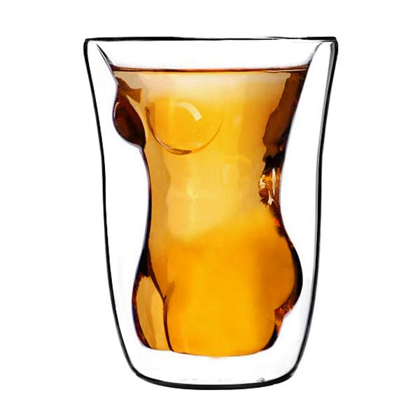 Naked Woman Glass