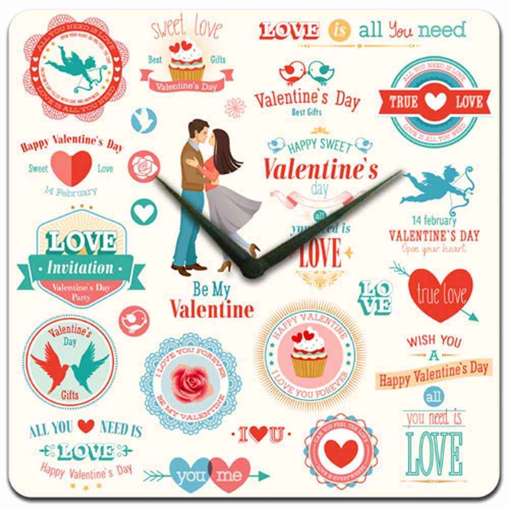 Valentines Clock