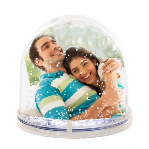 Sweet Nothings-Snow Globe Photo Frame