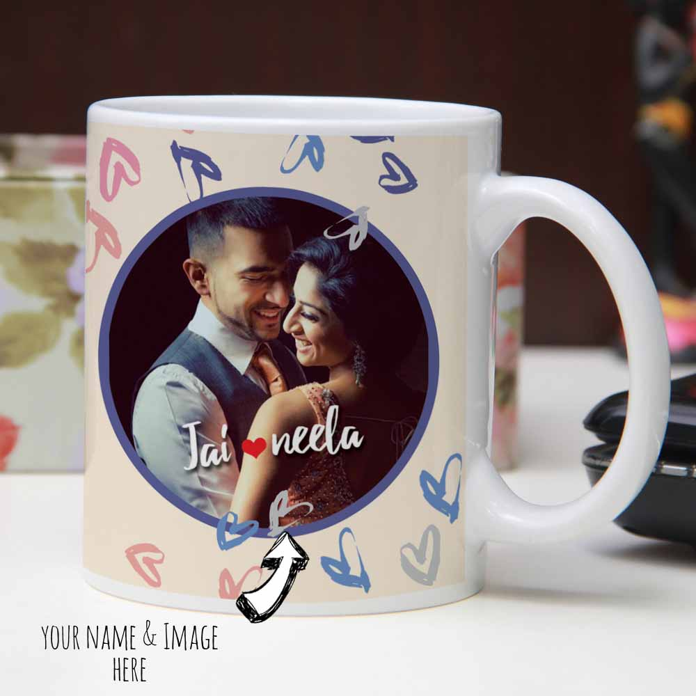 Funky Representation of True Love on Mug