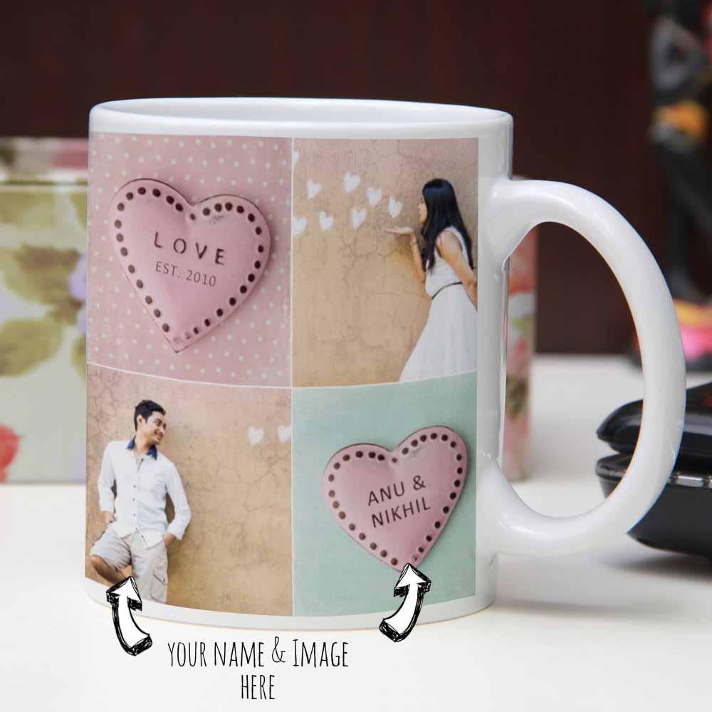 I Am Nuts About You Printed Mug